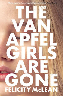The Van Apfel Girls Are Gone by Felicity McLean book cover