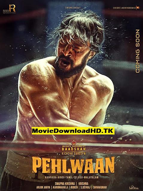 Pehlwaan 2019 Hindi Dubbed Full Movie Download 720p pDVDRip