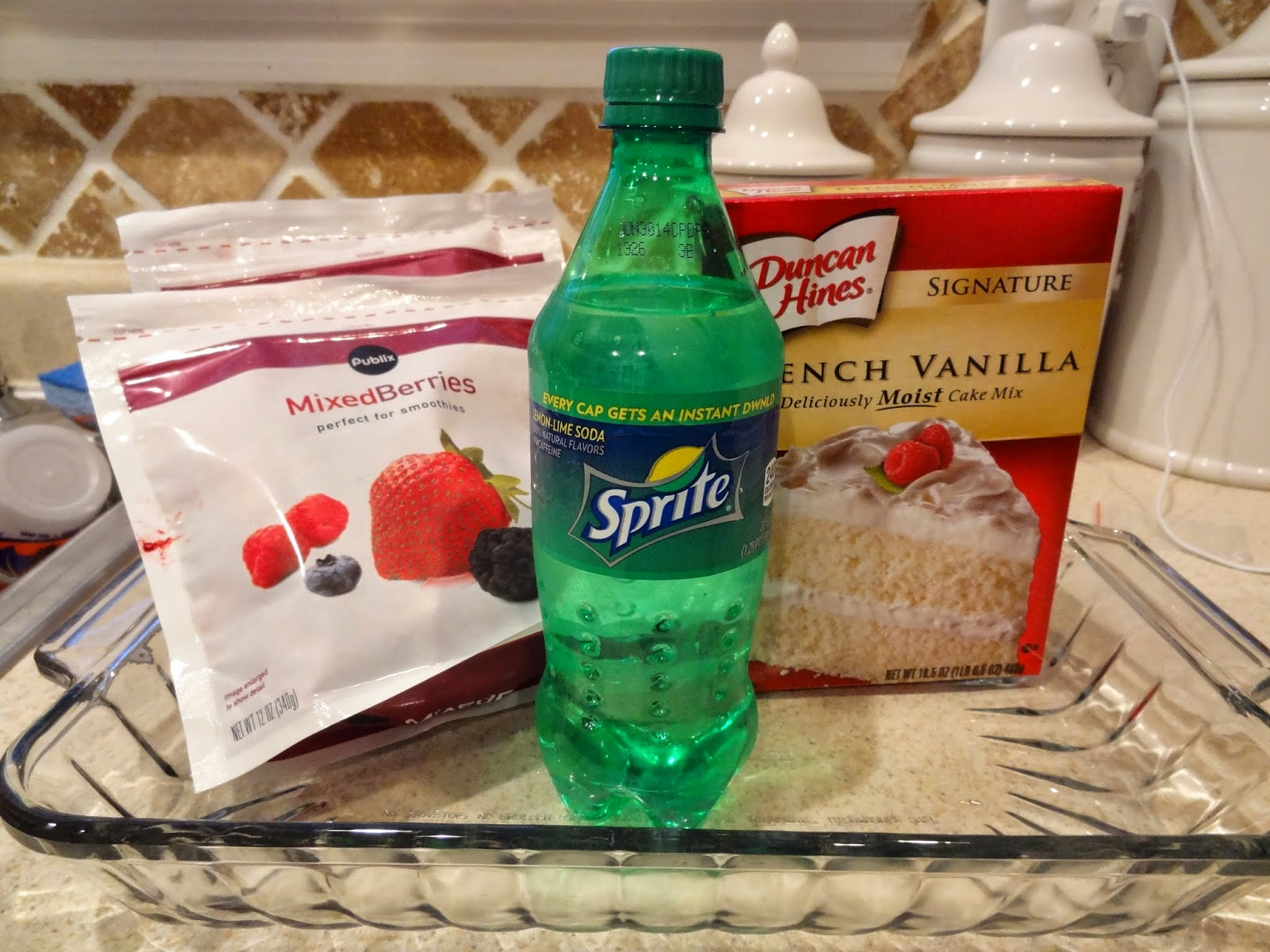 Weight Watchers Cake Recipe With Diet Soda And Fruit