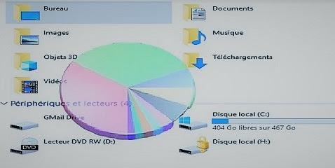 تحليل مساحة القرص الصلب المستخدمة للملفات على حاسوبك