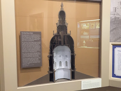 Cutaway showing how the Maryland State House Rotunda was constructed