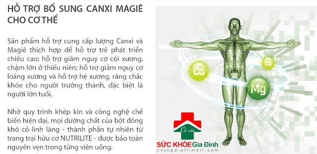 TP BVSK Nutrilite Calcium Magnesium
