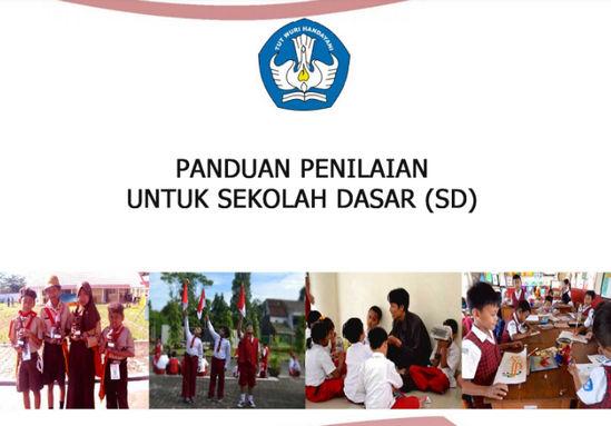 Panduan Penilaian Kurikulum 2013 SD