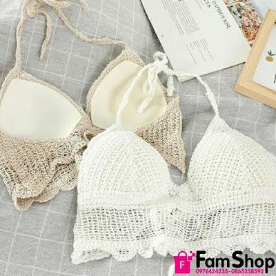 Cua hang ban bikini dan moc o Lang Ha