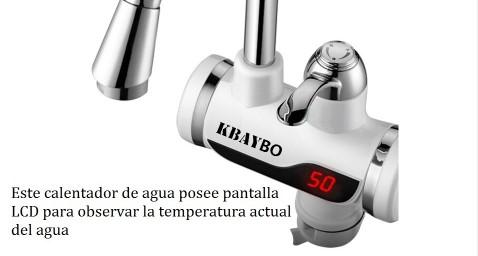 Grifo ducha calentador electrico instantaneo de agua - Oferta calentador electrico ...