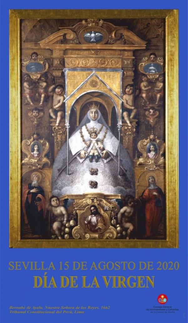 El Consejo de Hermandades De Sevilla presenta el cartel del día de la Virgen 2020
