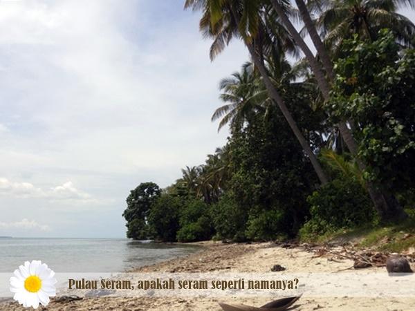 pantai pulau seram wisata murah di lampung selatan