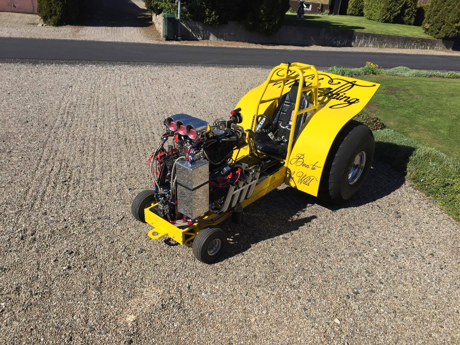 Mini Mod Tractor Pulling : Tractor pulling news pullingworld the new wild thing