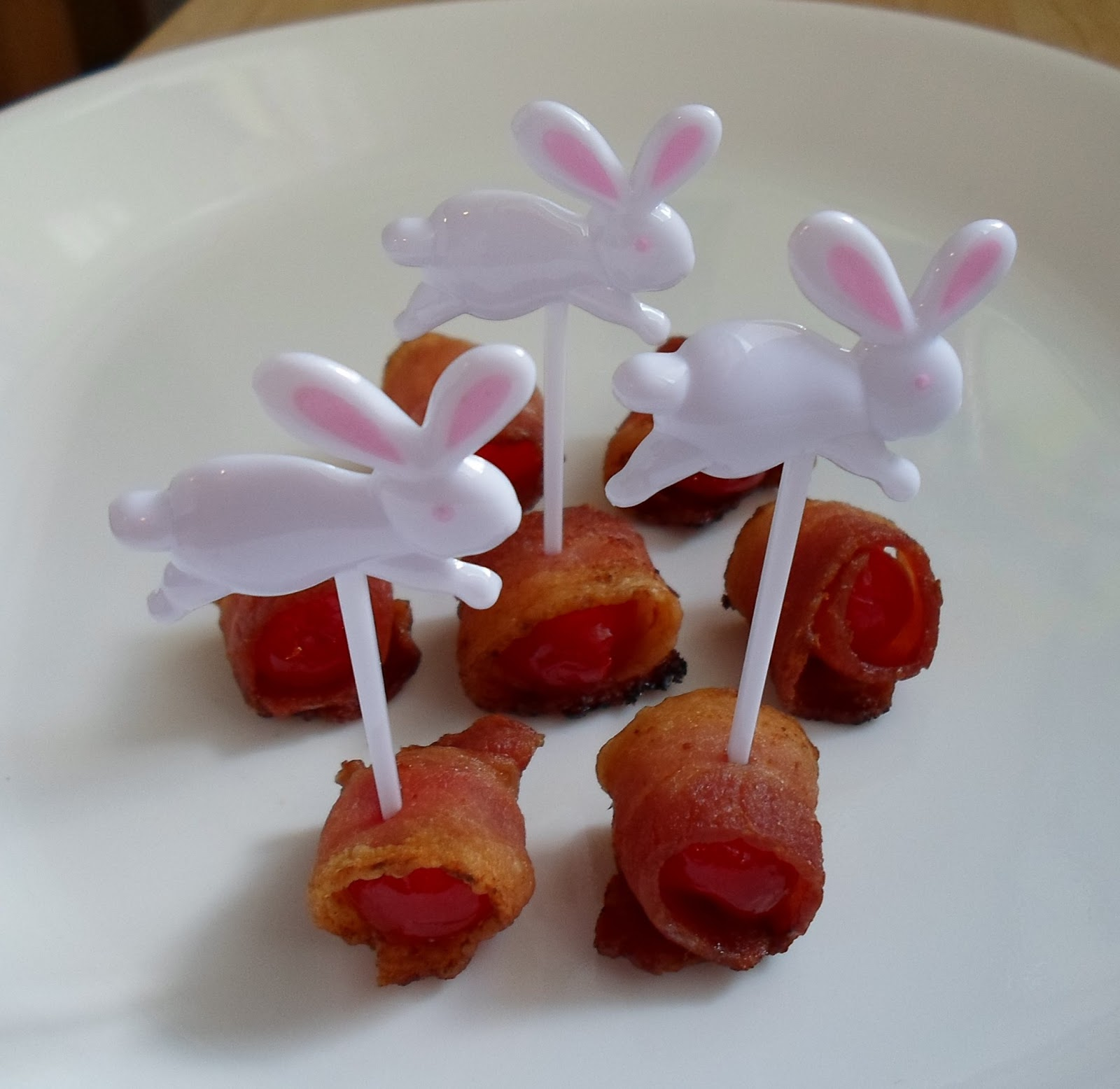Happier Than A Pig In Mud: Bacon Wrapped Maraschino Cherry