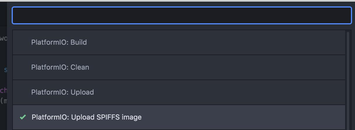 Upload file System PlatformIO on NodeMcu Dev Kit - NutDIY