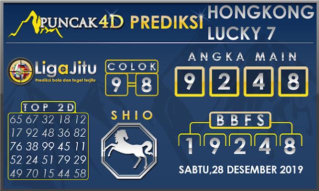 PREDIKSI TOGEL HONGKONG LUCKY7 PUNCAK4D 28 DESEMBER 2019