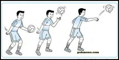 Teknik dasar bola voli dan cara melakukannya