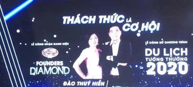 Câu chuyện thành công Founders Diamond Đào Thúy Hiền và Lê Trọng Đại