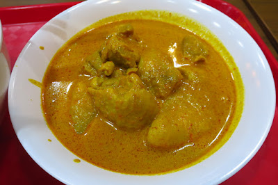 Traditional Sarawak Kolo Mee, curry