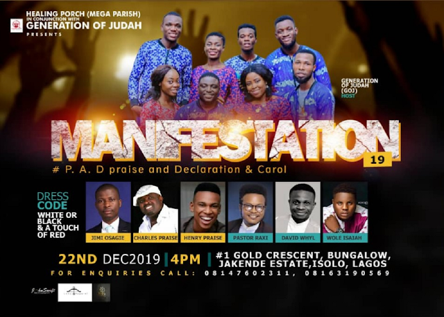 Event: Generation Of Judah Unveils A-List Lineup For #Manifestation19