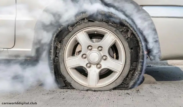 Reasons leading to the explosion of the car tire