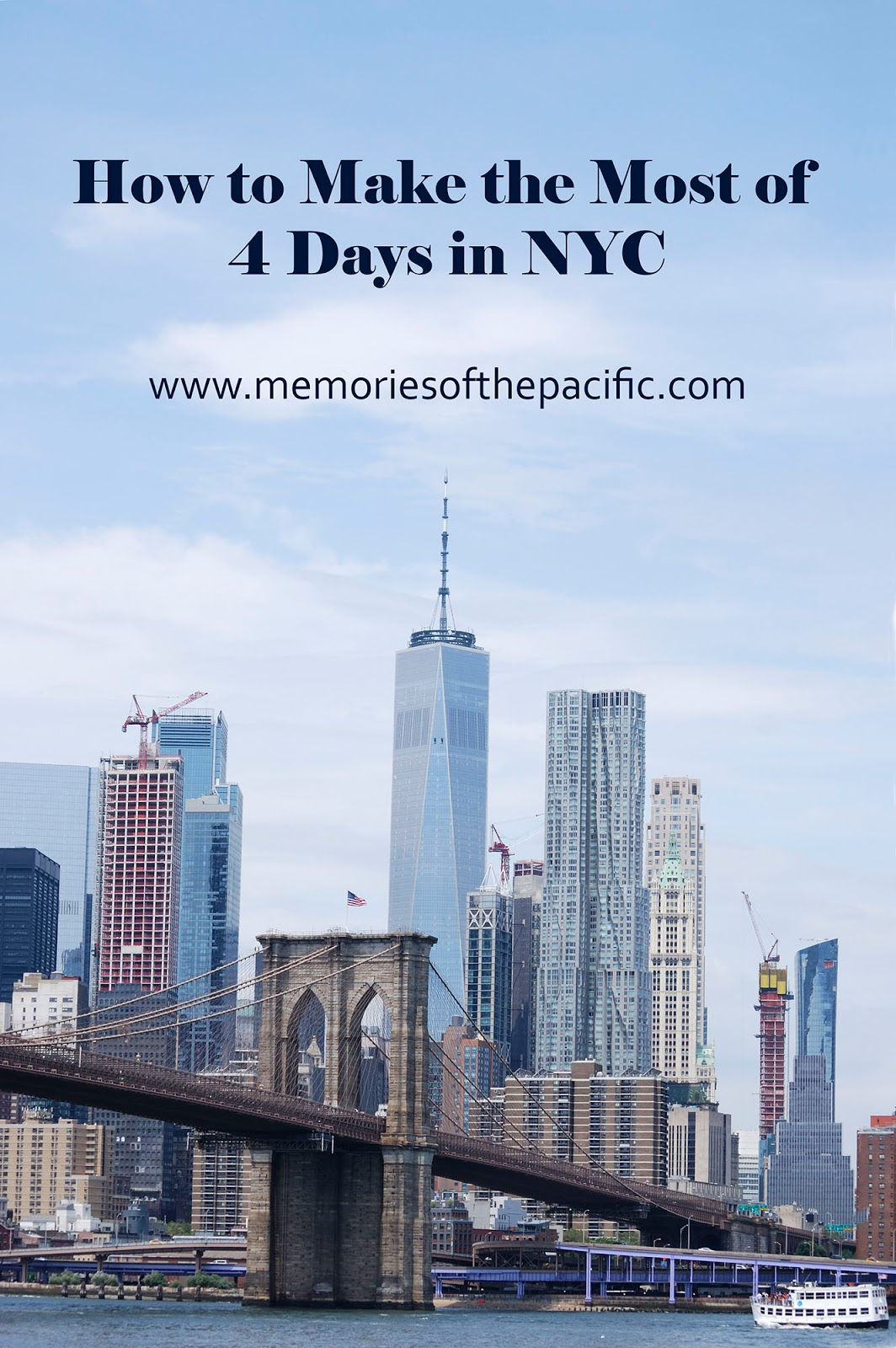 new york itinerary guide plan brooklyn bridge dumbo manhattan