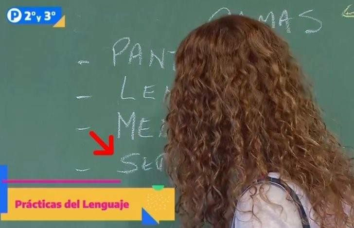 Polémica por un nuevo error ortográfico en el programa educativo de la TV Pública