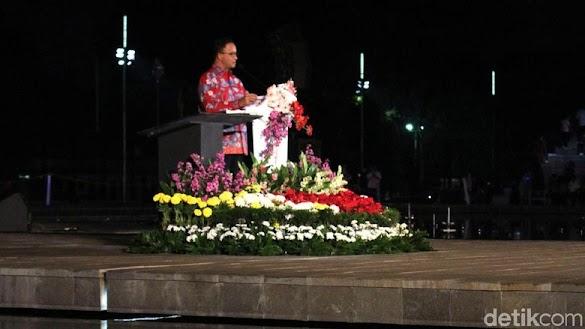 Viral Potongan Pidato Anies di Lapangan Banteng, Ini Imbauan Sandi