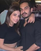 bhumika gurung with her boyfriend