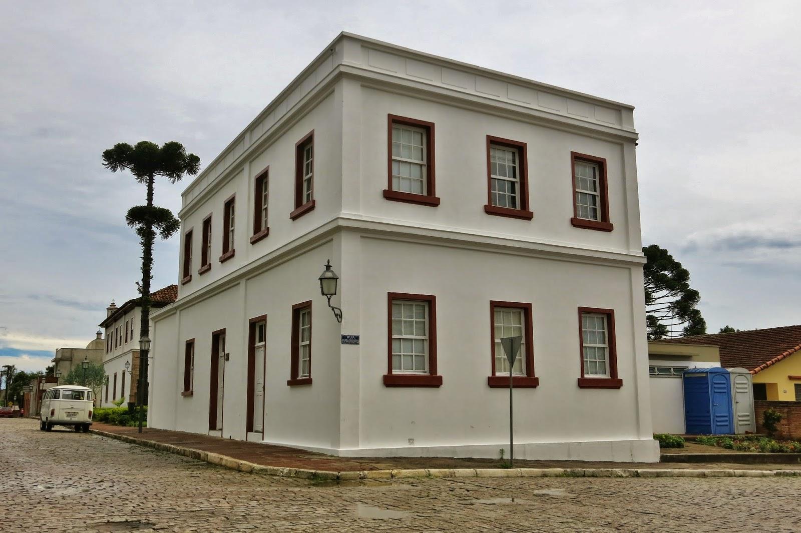 Casario da Lapa, cidade histórica paranaense