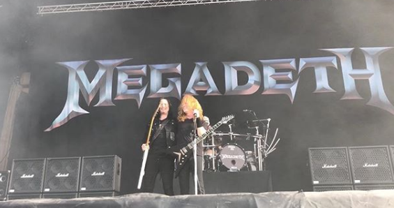 Megadeth invita Michael Amott Arch Enemy tocar Symphony of Destruction Hellfest 2018 VIDEOS