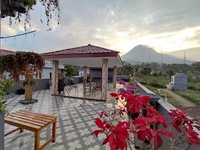 villa dengan pemandagan bagus