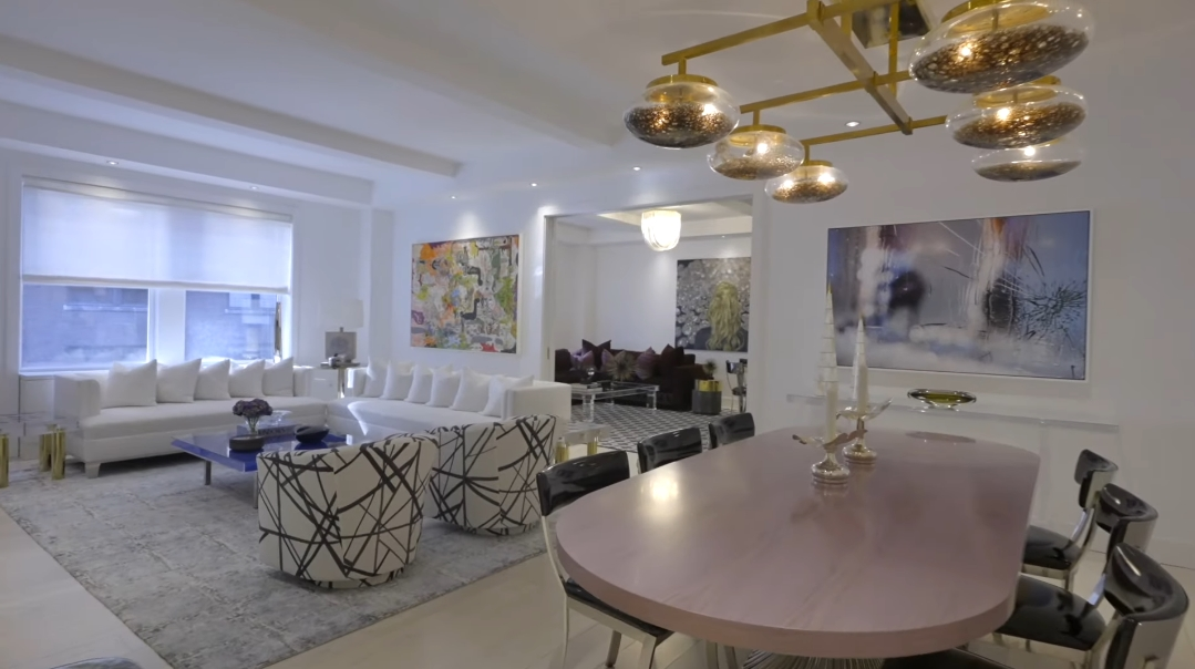 28 Interior Design Photos vs. 1111 Park Ave #7B, New York, NY Luxury Condo Tour