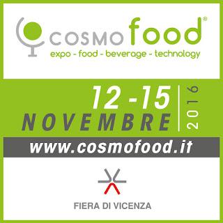 A Vicenza torna Cosmofood e diventa internazionale dal 12 al 15 novembre Vicenza