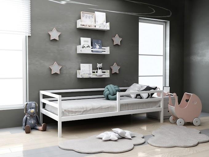 Детская кровать Киндер 80х190  ТМ MegaOpt