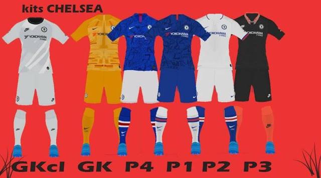 PES 2017 Chelsea Kits 2019-2020