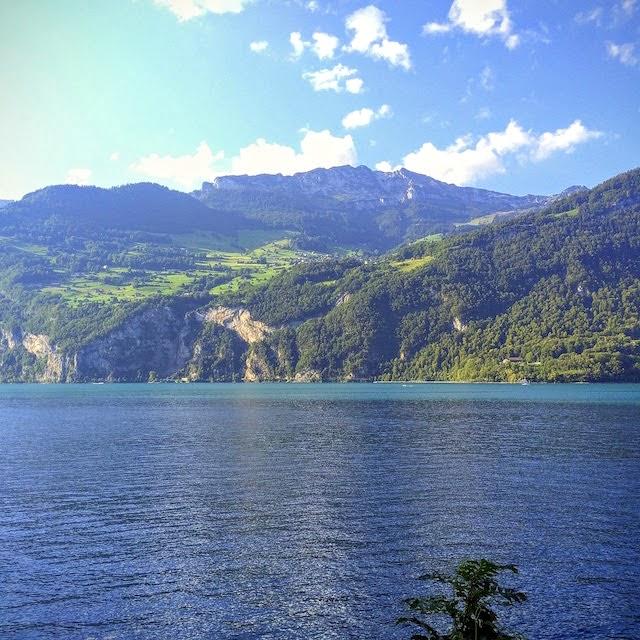Mountains around Zurich