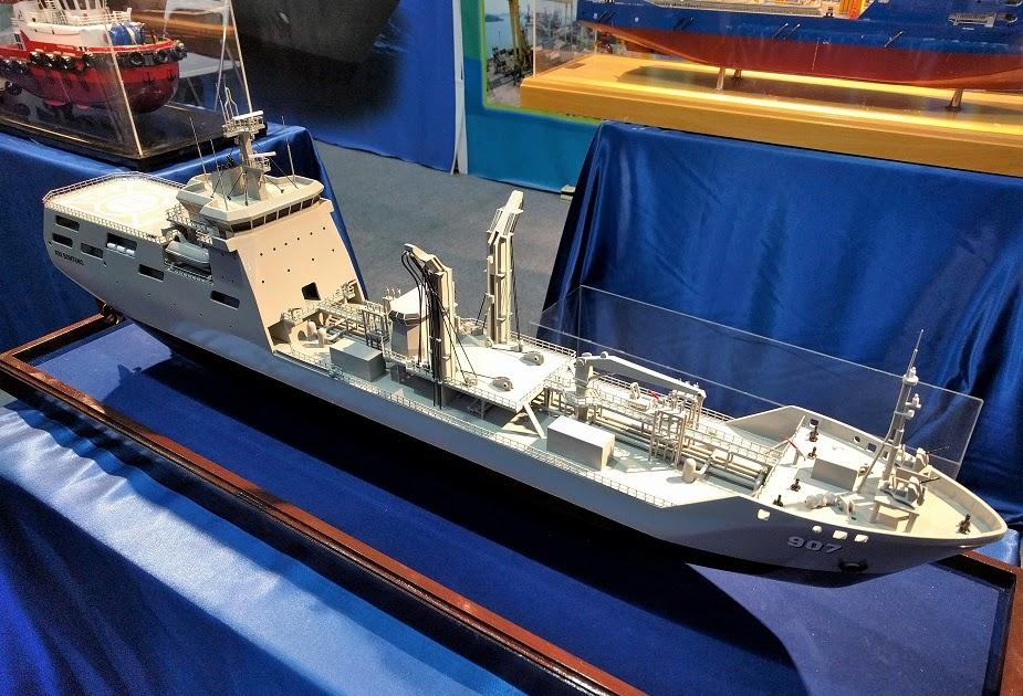 DEFENSE STUDIES: TNI AL Bangun Satu Kapal Tanker (BCM) Di Galangan PT. Batamec  Batam