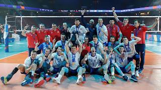 VOLEIBOL - Rusia es bicampeón de la Liga de Naciones masculina batiendo a los anfitriones en Chicago