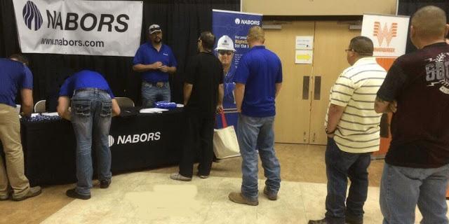 Nabors Hiring Event: Floorhands, Motorhands, Derrickhands & Drillers. (Hiring on the spot, Housing Available)