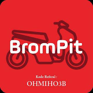 Kode Referral Aplikasi Brompit Terbaru