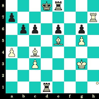 Les Blancs jouent et matent en 2 coups - Vladimir Prosviriakov vs Antoine Canonne, Hastings, 2011