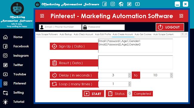 Cara Cepat Membuat Akun Pinterest Secara Automatis