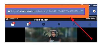 cara melihat id fb