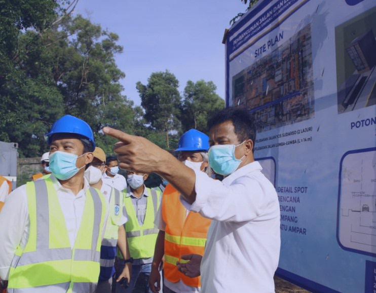 BP Batam Lakukan Pembangunan dan Peningkatan Infrastruktur Jalan Depan Southlink