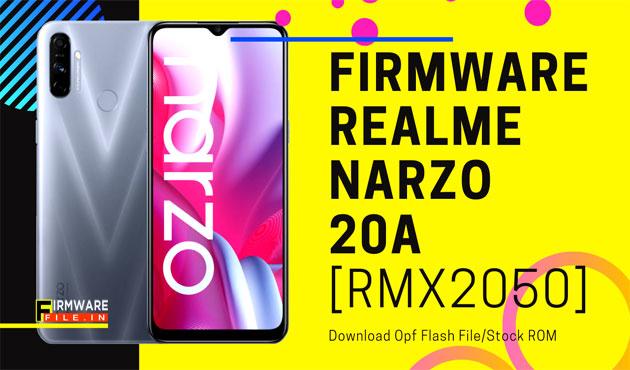 Firmware Narzo 20A RMX2050