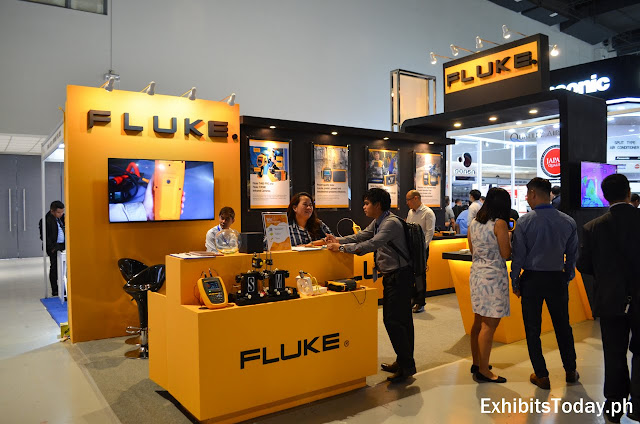 Fluke Exhibit Booth