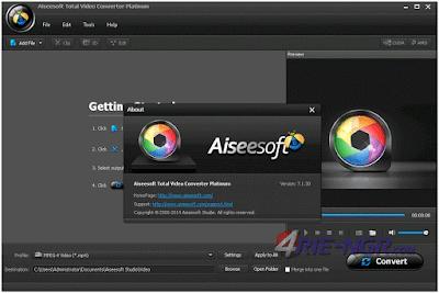 Aiseesoft Total Media Converter Platinum 7.1.30 Full Version