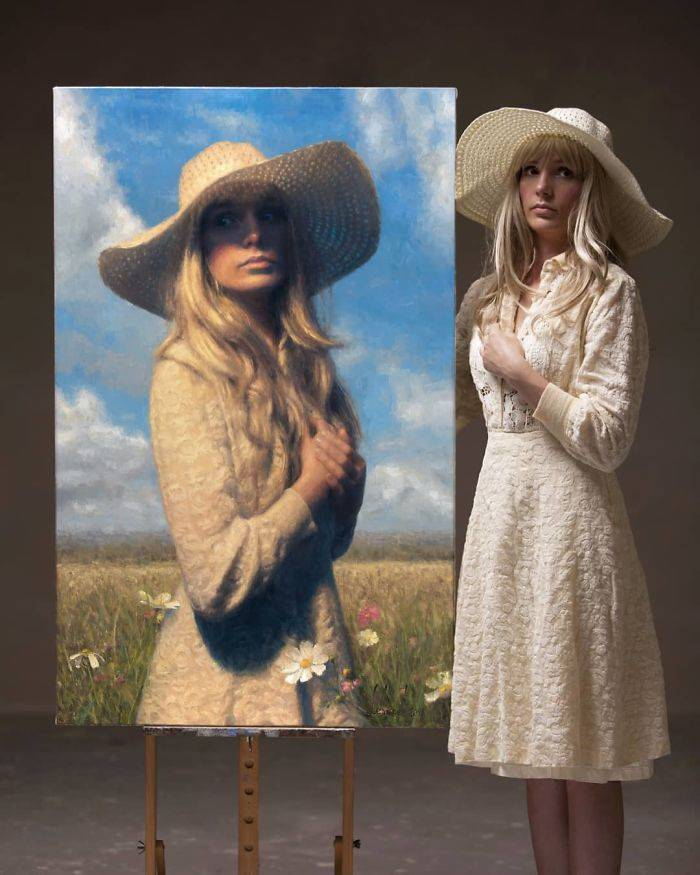 Artist Creates Very Beautiful Images Of  People And They Show His Work Is Comparable In Biggest Artists