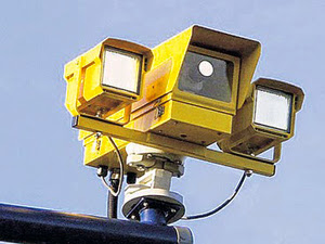 speed camera yellow