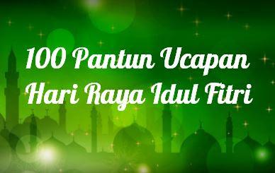 Pantun Ucapan Selamat Hari Raya Idul Fitri 2021 / 1442 Hijiriah