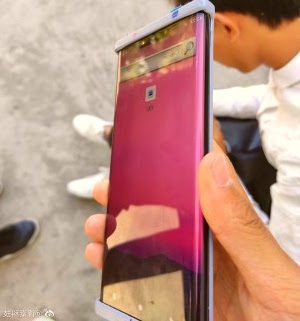 Leaked photo for Huawei Mate 30 Pro