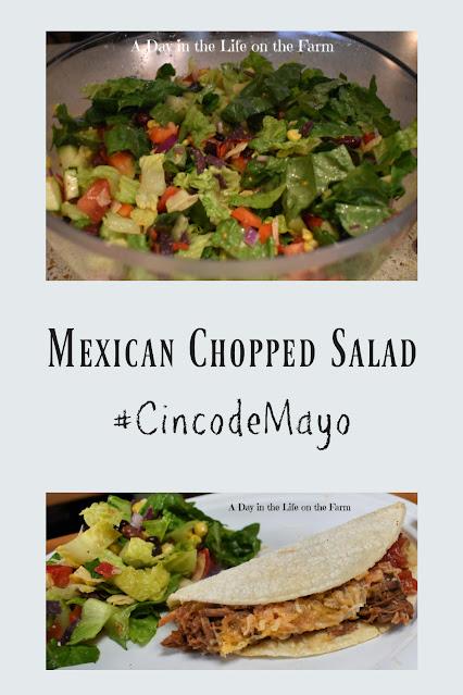 Mexican Chopped Salad pin