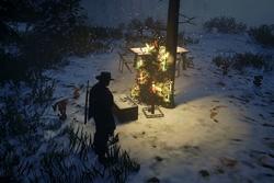 Wintereinbruch im Grenzland und ein Weihnachtsbaum...