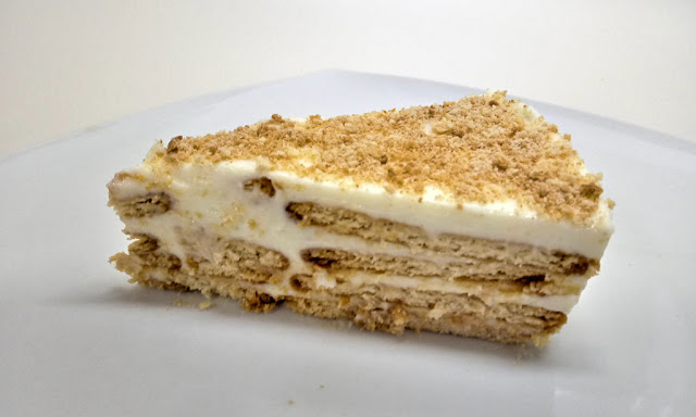tarta de limon con galletas riquisima